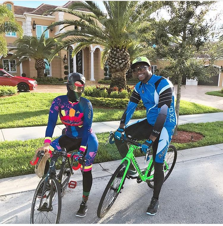 Gucci really living the suburban lifestyle and I love it 😂