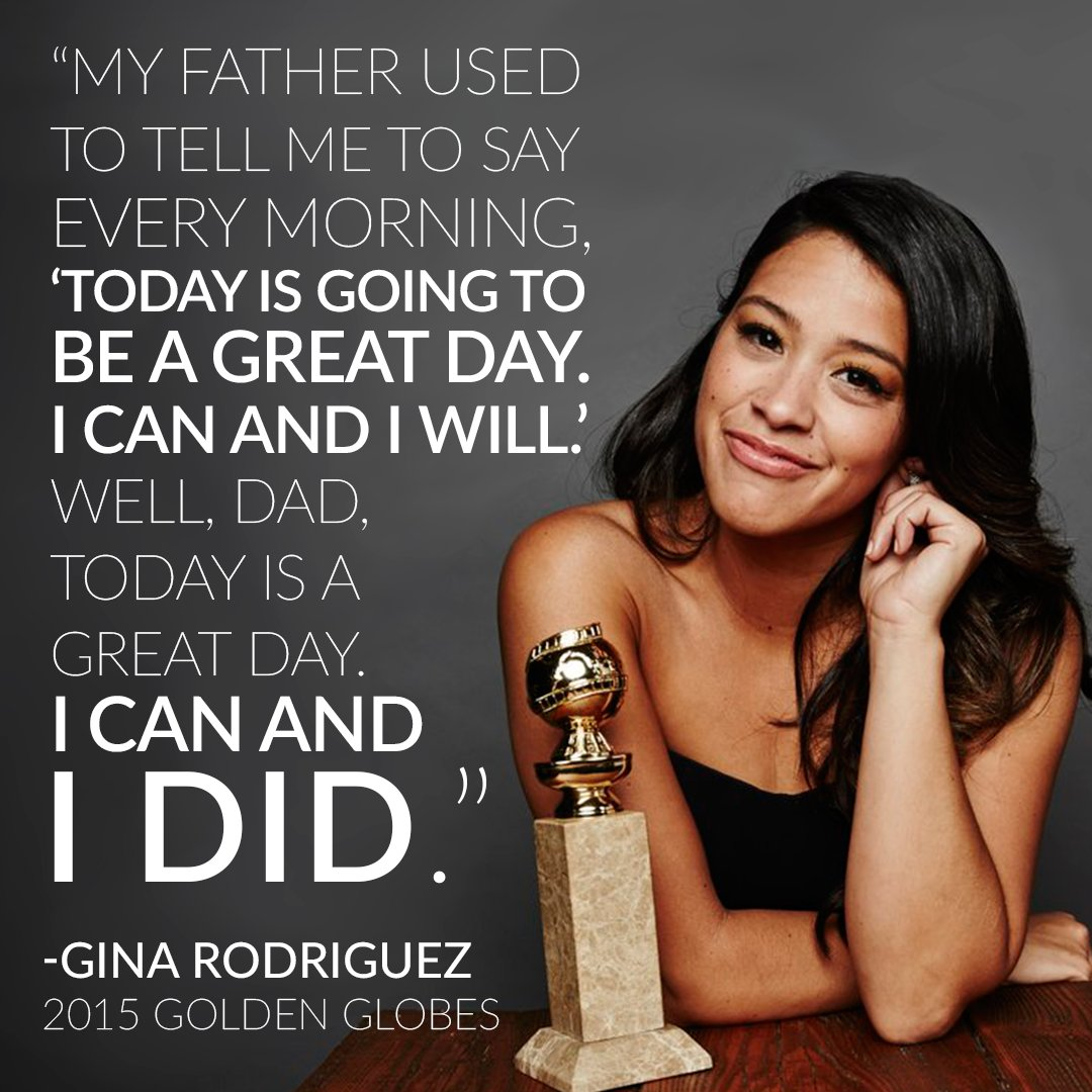 .@hereisgina' s speech from 2015 was so touching and memorable. What is your favorite #GoldenGlobe memory? #TBT https://t.co/djiEXY4sGY