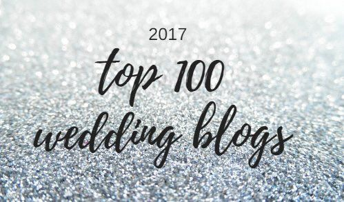 Need some #wedding inspiration? Check out the top 100 wedding blogs of 2017! ~ https://t.co/6ff14hYOE1 https://t.co/R9Gs8BSBrv