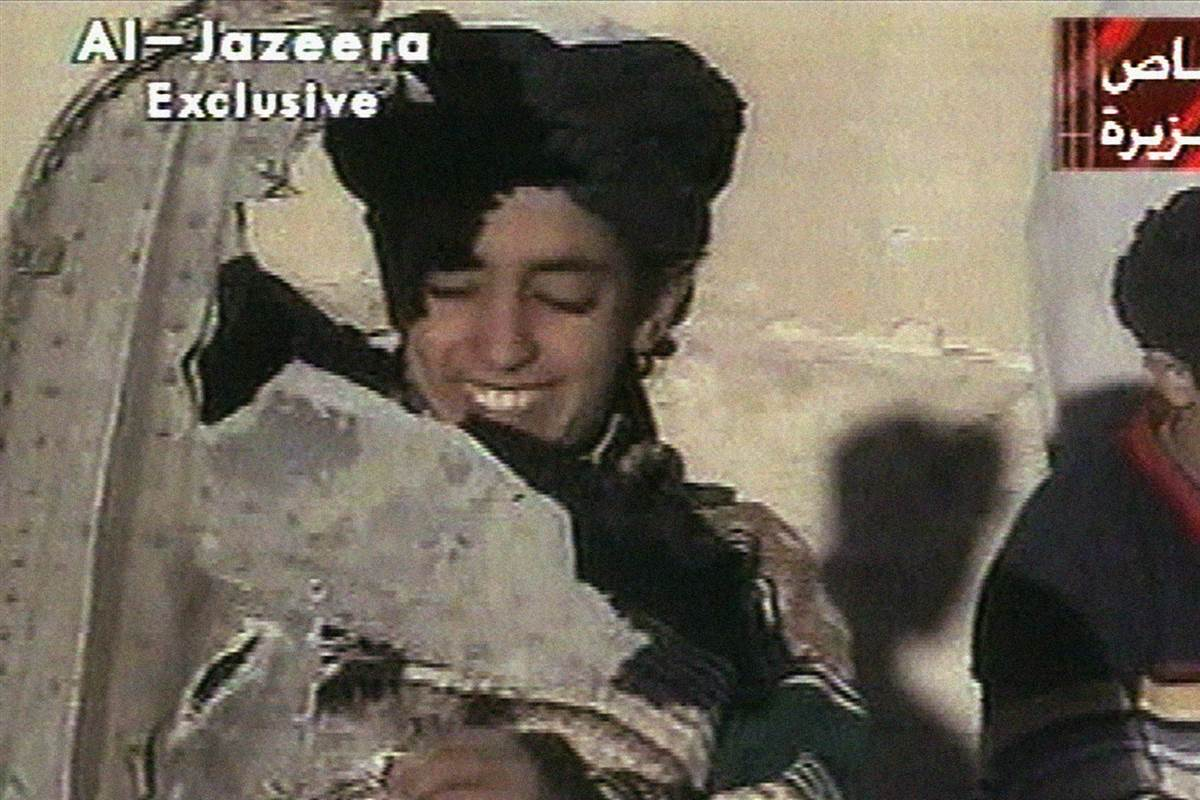 Osama bin Laden's son Hamza has been put on a terror blacklist