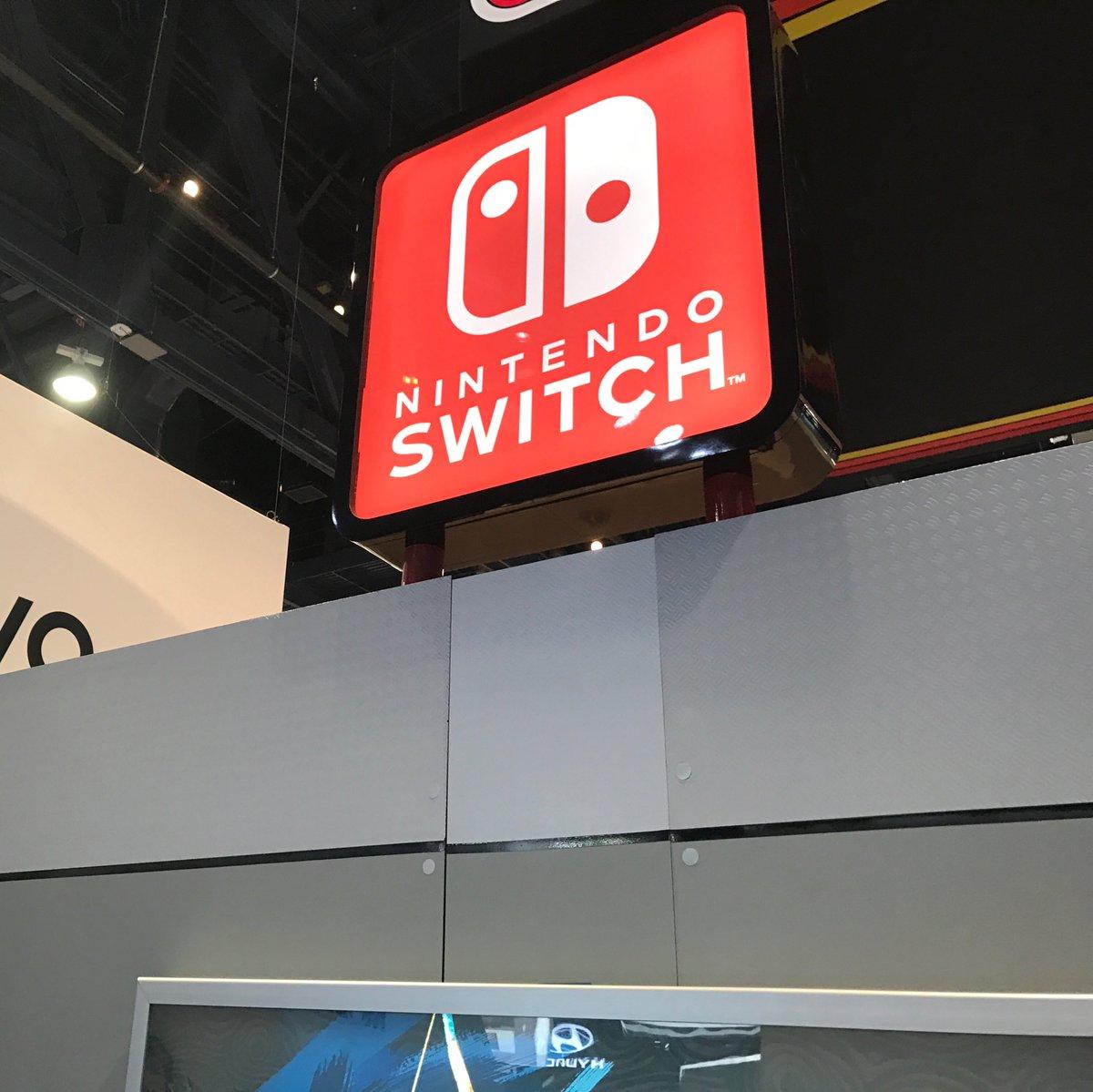 Actually, seen at #CES2017... #Nintendo #NintendoSwitch https://t.co/3Oc21zmI13