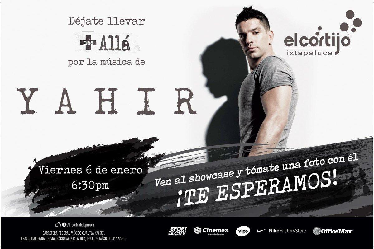 Oigan, mañana toca celebrar Día de Reyes con @yahirmusic en #ElCortijo Ixtapaluca!! ¿Quién va?