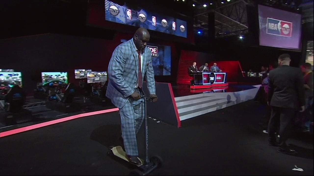 .@SHAQ is cruising on #InsidetheNBA �� https://t.co/ZTINlL5kwL