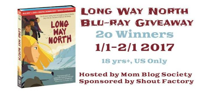 Long Way North Blu-Ray / DVD Giveaway (2/1 US)