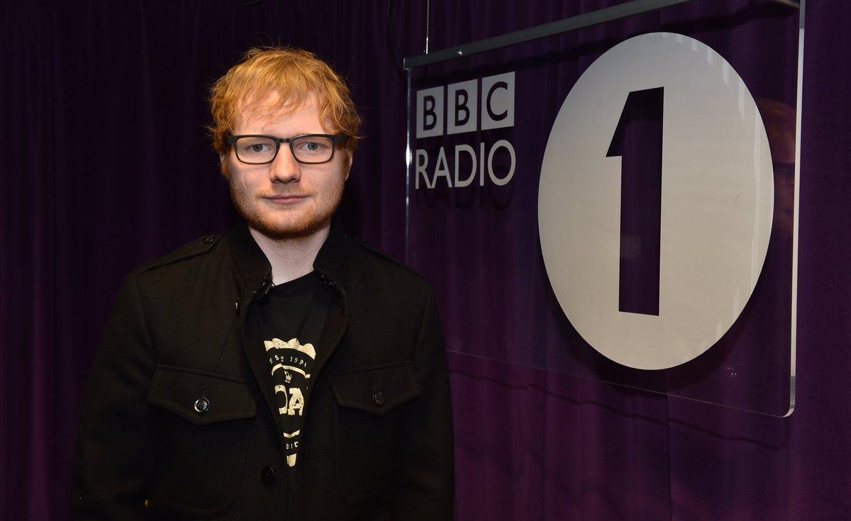 RT @BBCR1: Welcome back @edsheeran! ????  Lock in to Radio 1 NOW ???? https://t.co/48RuyAdouO   #R1Sheeran https://t.co/iLH17hLBEu