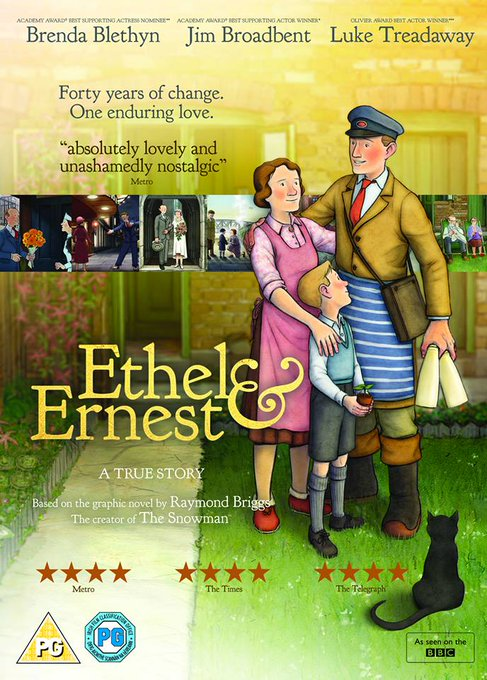 Win Ethel & Ernest on DVD: Giveaway Competition PrizeDraw FreebieFriday