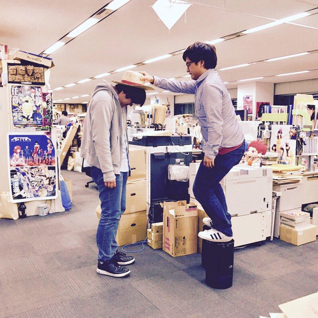 【ニュース】5年間に渡りONE PIECEの担当をつとめた井坂が担当を外れることに。新しく、内藤が原作担当、杉田がメディ