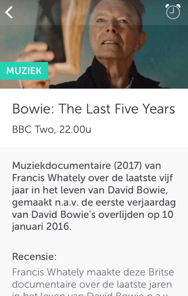 #DavidBowie: David Bowie