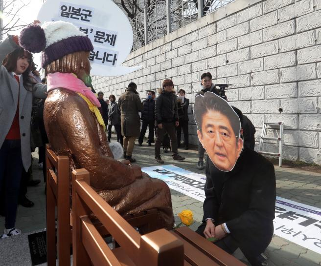 Japan to recall envoy from South Korea over 'comfort women' statue