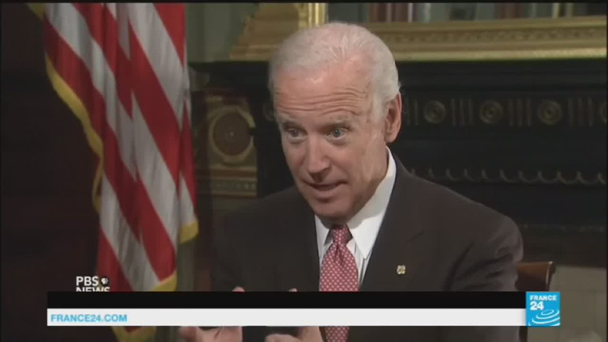 VIDEO -  US election hacking: Vice-president Joe Biden tells Donald Trump to 'grow up'