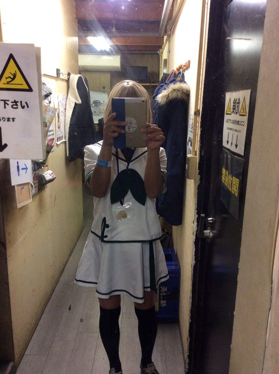 関西でやってもほとんどの人が何のアニメって言うももくりコスで乗り込むのです! #xi_lium