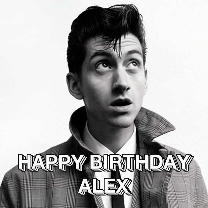 Happy Birthday to Alex Turner who turns 31 today