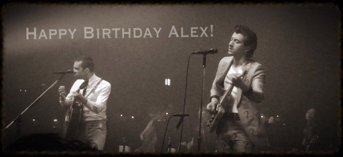 Alex Turner, Happy 31th Birthday! Japan always waiting you and your marvelous gigs