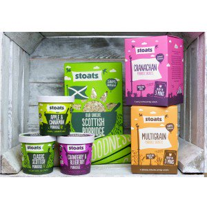 Win a Porridge lovers Pack from Stoats