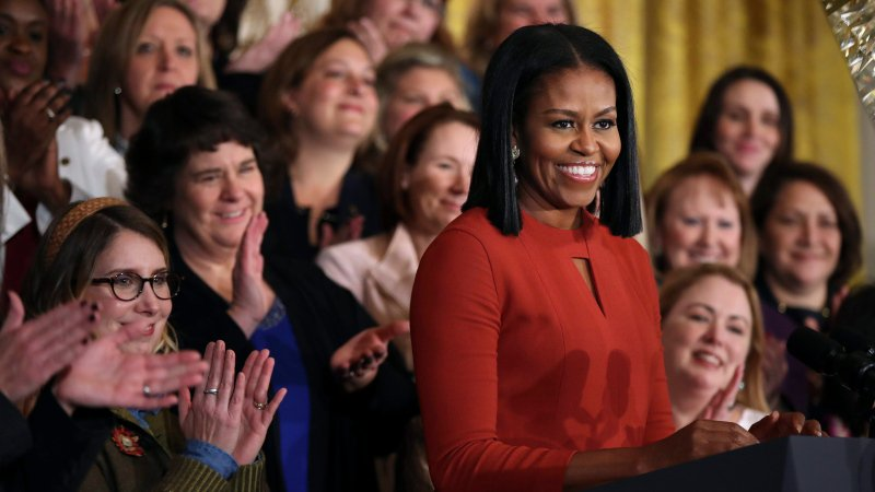 Michelle Obama: Life's 'greatest honour' was being first lady