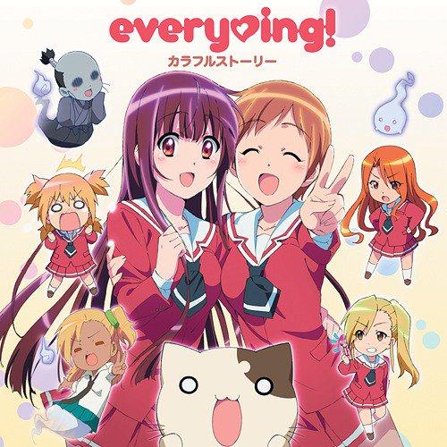 ♪カラフルストーリー - every♥ing! - 『レーカン!』OP #鳥ぷれ