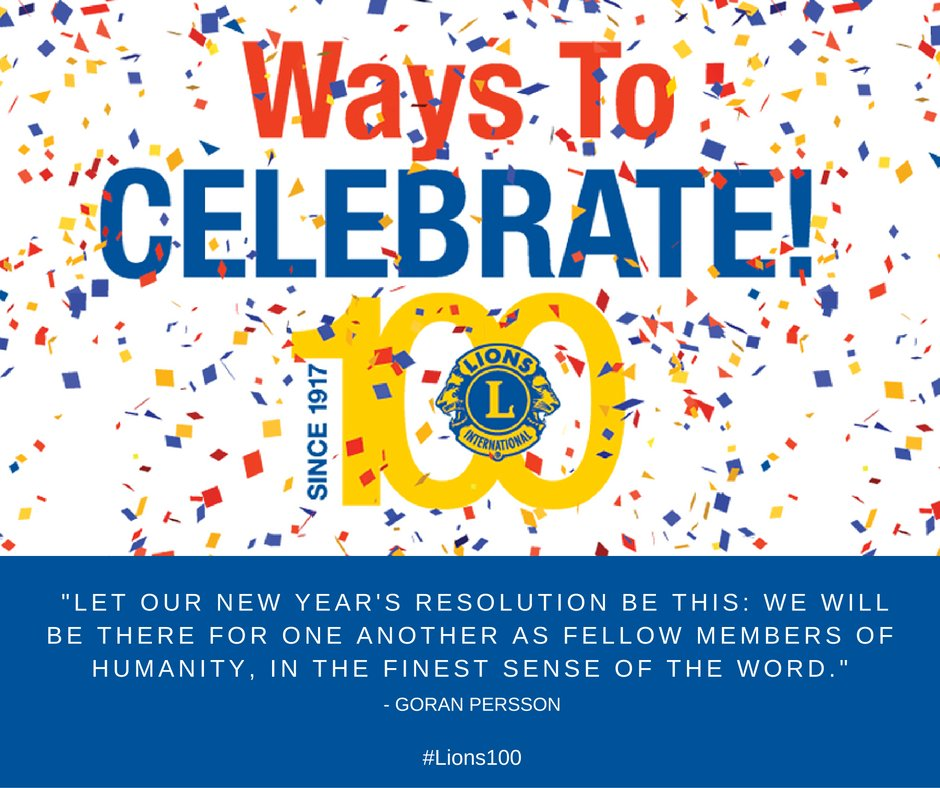 Make 2017 your best year yet! Find more inspiration: https://t.co/ptZa81HyD0 #LIONS100 https://t.co/qsukQLwR5p