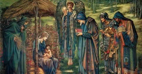"Happy #Epiphany!!!  Listen to TS Eliot reading his poem ""Journey of the Magi' https://t.co/ja6jJcpgjx https://t.co/uaxzJxfTDt"