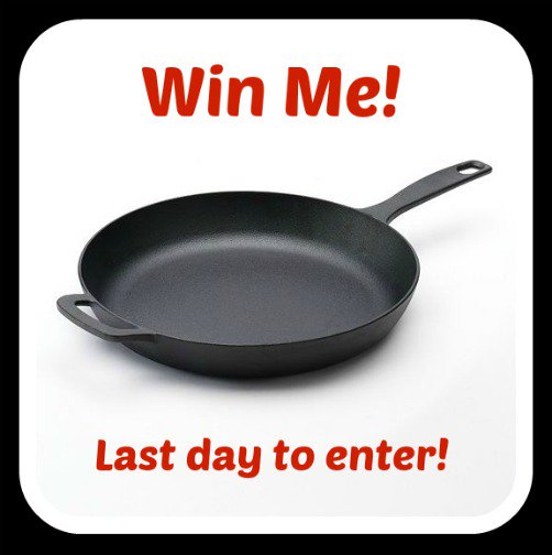 Cast Iron Skillet Giveaway