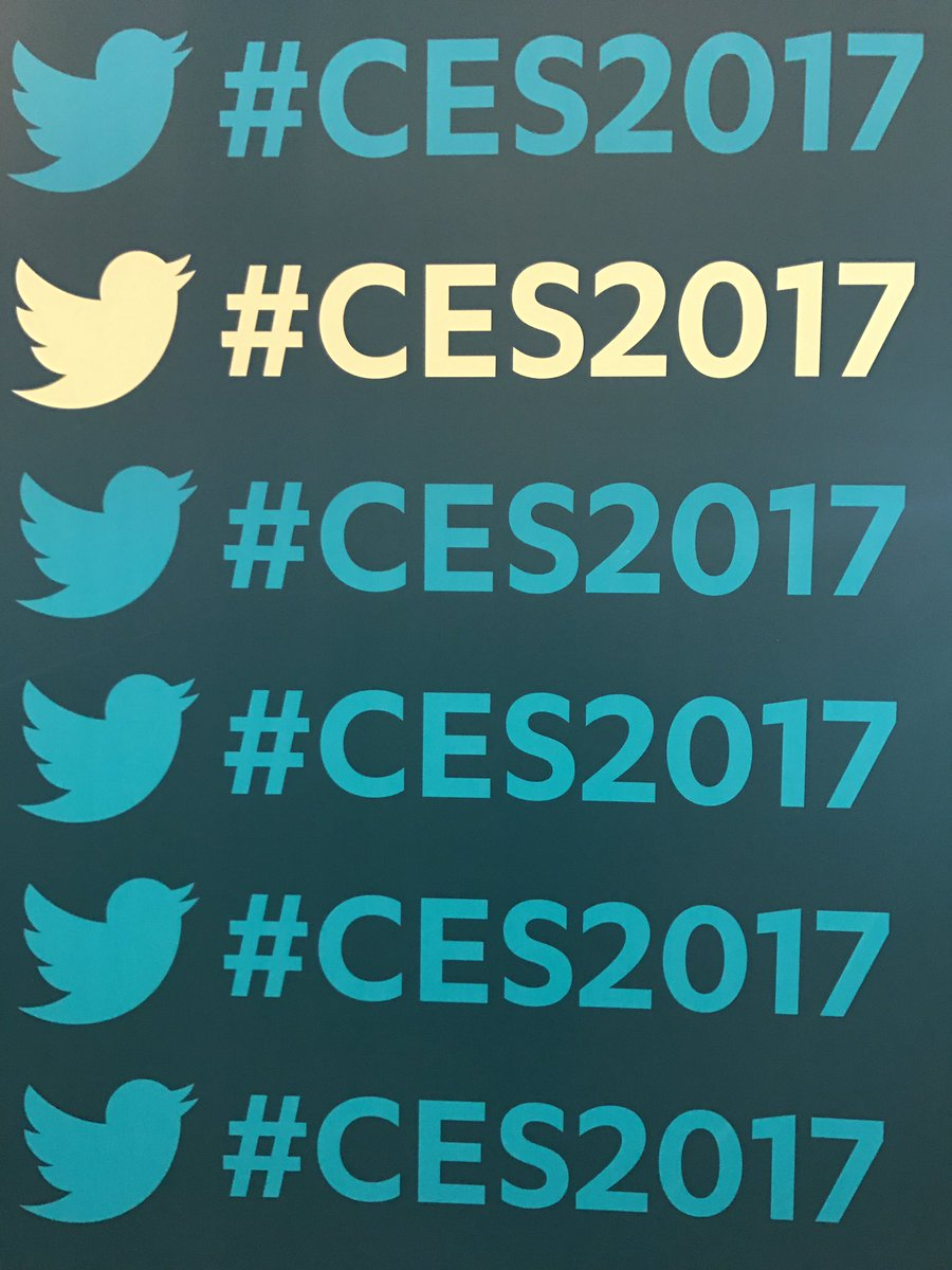 Your daily hashtag reminder. #CES2017 https://t.co/Nr2xSPgfNx
