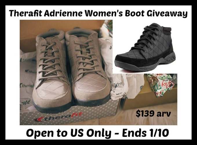 Therafit Women's Ankle Boots Giveaway (1/10 US)