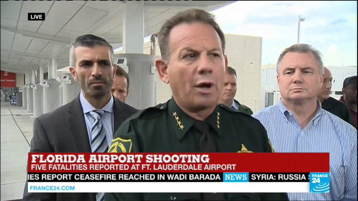 VIDEO -  Florida airport shooting: lone shooter under police custody