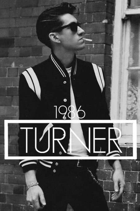 Happy 31st birthday to the sexiest man alive, Alex turner