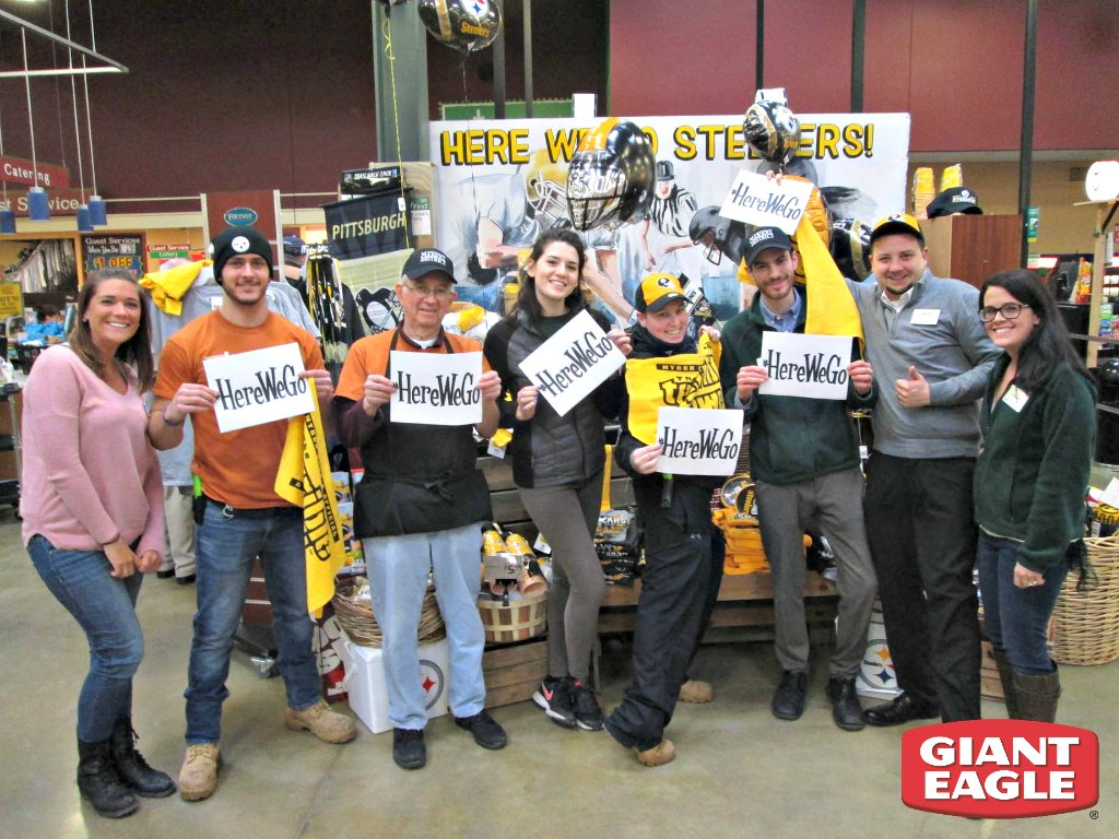 Our team is ready for the @steelers game this Sunday! #HereWeGo https://t.co/JM4X7o344p