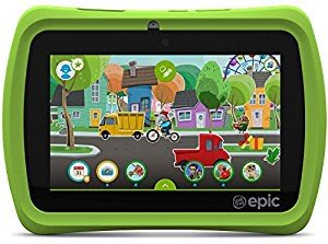 "Win LeapFrog Epic 7"" Android-based Kids Tablet 16GB, Green"