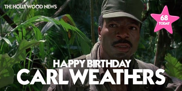Happy birthday to a Apollo Creed and Dylan, the legendary Carl Weathers!