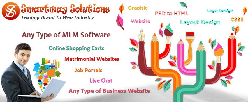 Online marketing logo design