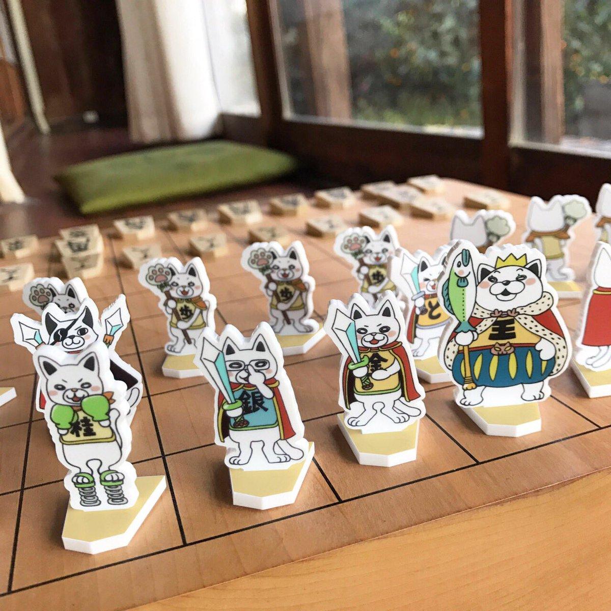 【3月のライオン】二海堂くんもきっとビックリ👀!ホントにさせる!ニャー将棋音頭が話題のニャー将棋が、ビックリなアクリルス