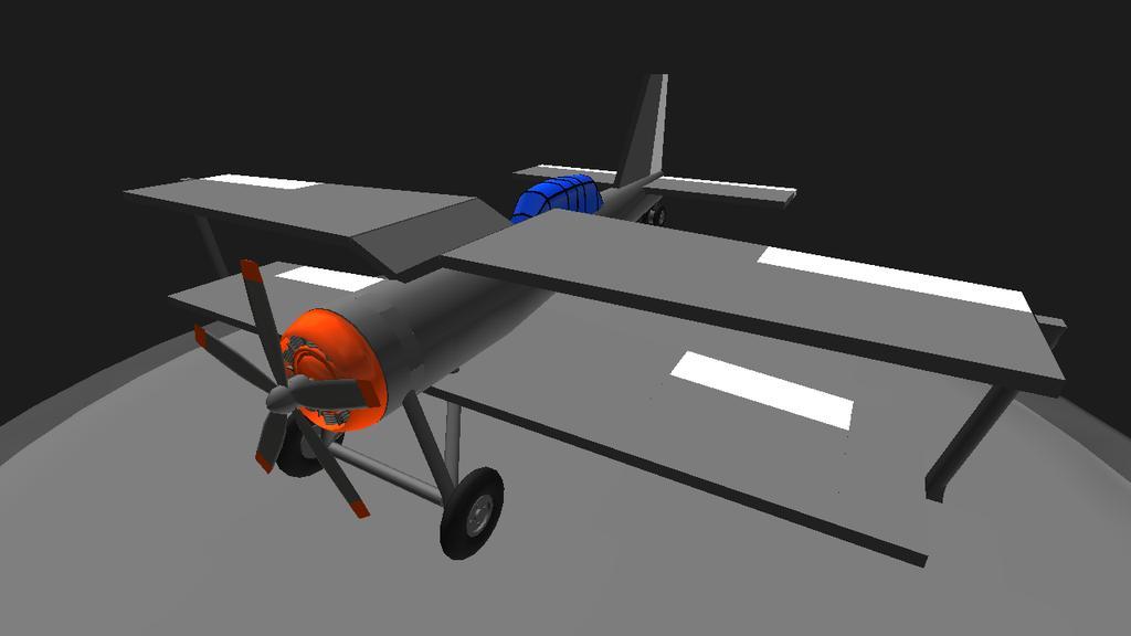 離着陸が少し難しい(離陸:トルク負けして機体が傾く、着陸:横滑りする)けど、飛び上がれば問題は無い子モデルはソ連のI-1