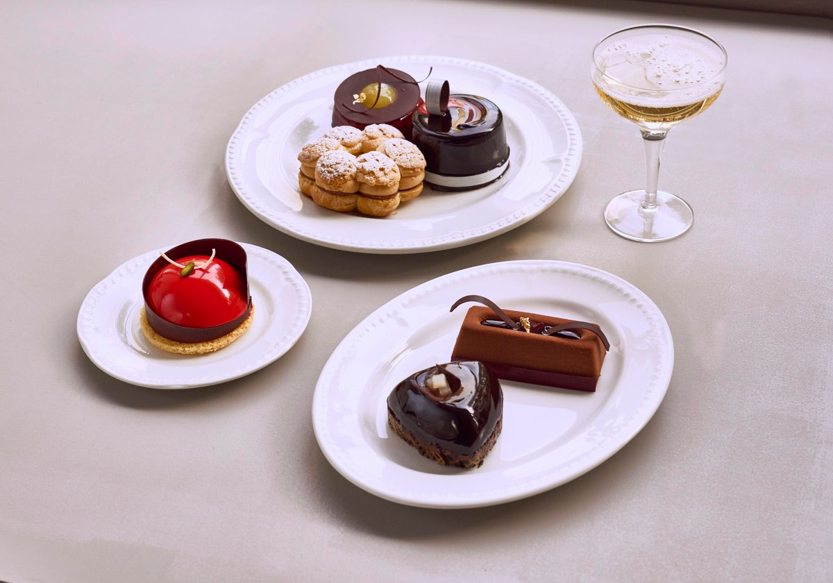 R Chocolate London London's Most Glamorous Afternoon Tea