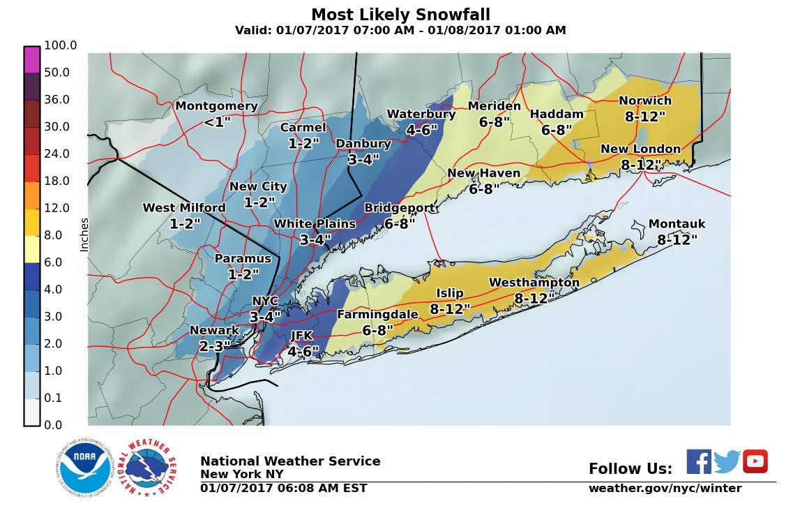 Winter storm warning, advisories in effect