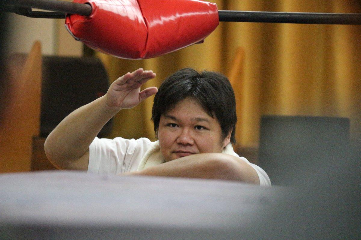 セコンドお疲れさまでした松太郎さんの試合も観たい#ミカドプロレス#プロレスリングDEWA