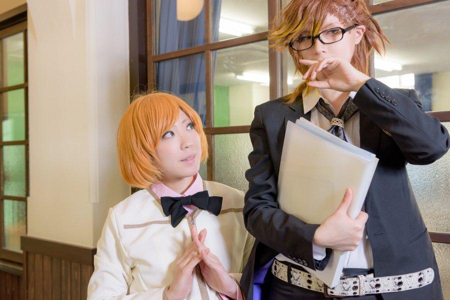 【コスプレ】金色のコルダ4小日向かなで*ゆずりさんPHOTO*ノリさん須かな編集したー!