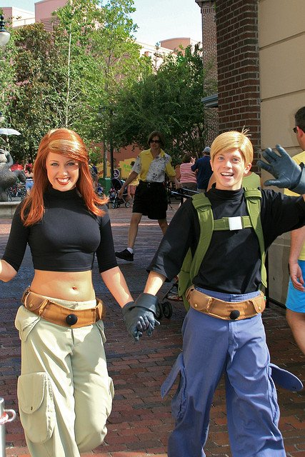 """""""Kim Possible and Ron Stoppable #cosplay"""" #pics https://t.co/KMKLJL4JRO"""