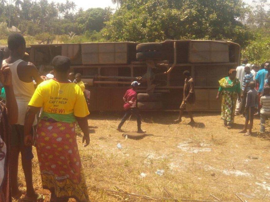 Wedding turns solemn after four die in Msambweni bus crash