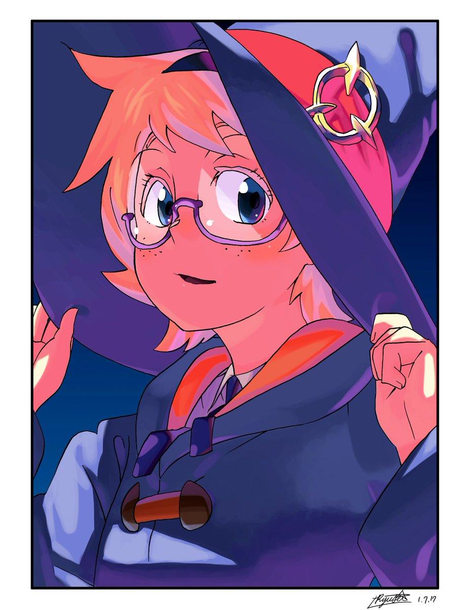 ロッテ美人!#LWA_jp #LittleWitchAcademia #illustration #イラスト #デジタル
