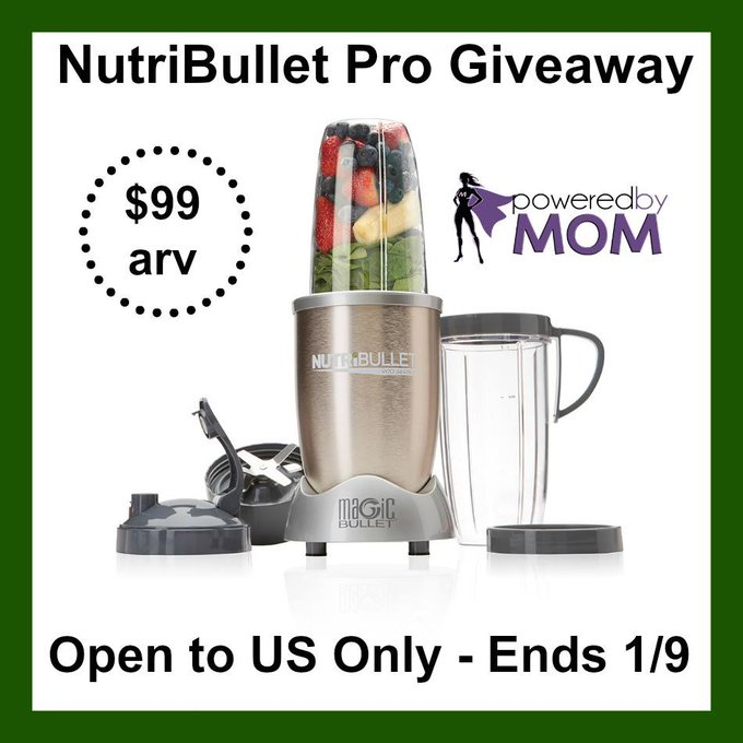 Win NutriBullet Pro For Your Breakfasts And Snacks
