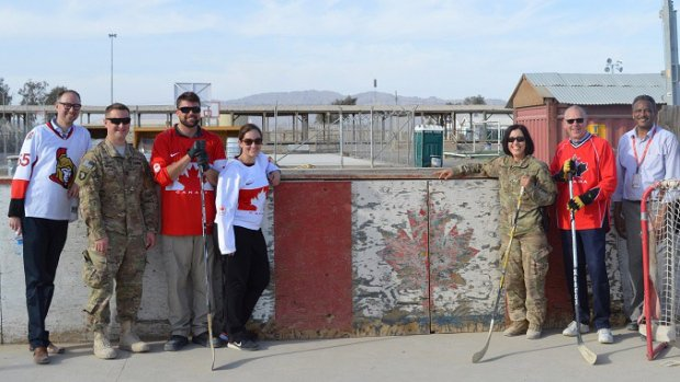 Hockey rink from Afghanistan to go on display at Canadian War Museum
