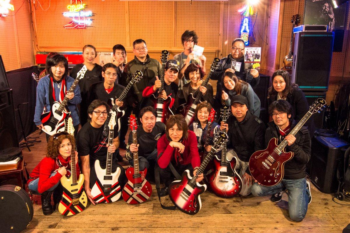 """Aria Pro-II JAIL O'HASHIシグネチャーモデル・オーナーズクラブ""""Guitar Workshop V"""