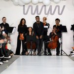 Rapper Tinie Tempah makes catwalk debut with menswear line in London