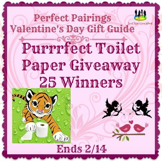 Purrrfect Toilet Paper Giveaway 25 Winners Ends 2/14 @PurrrfectTPaper #SMGN