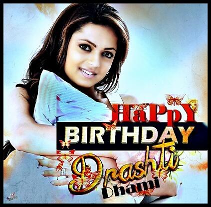 Happy Birthday Drashti Dhami A request to all Put  this pic as ur dp for tomorrow n 10th Jan