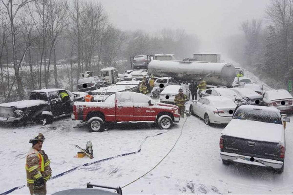 Six dead in winter storms sweeping the U.S.