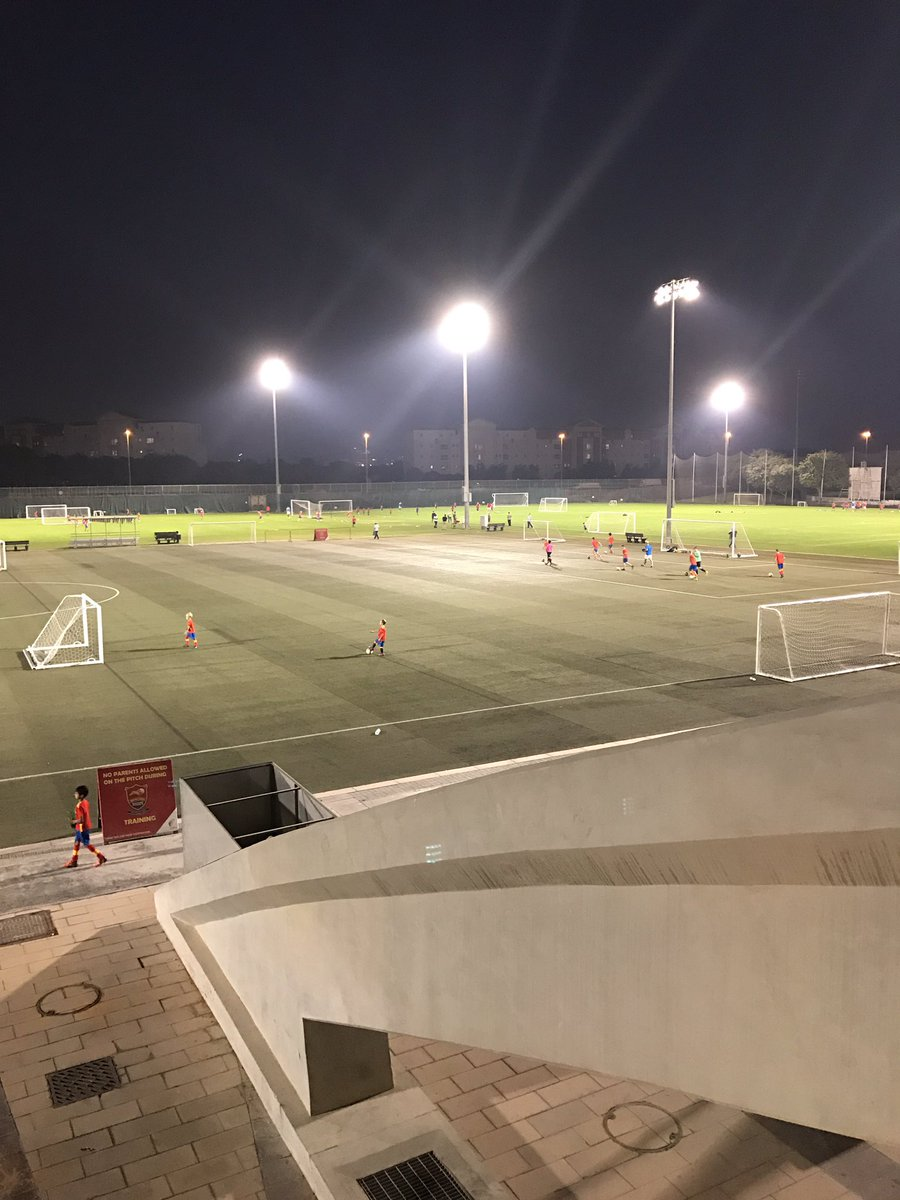 Scouting some talent at the Spanish Soccer School in Dubai, fantastic facilities https://t.co/Fk7PDkBYuH