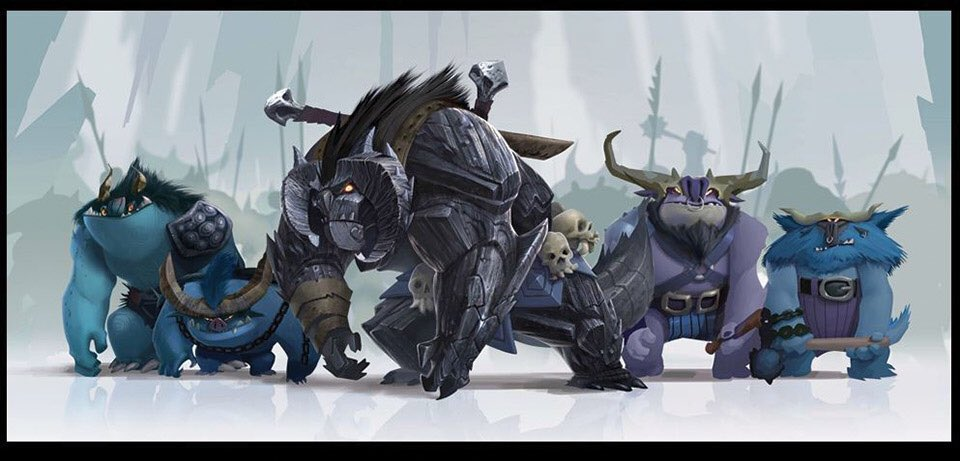 An early concept for @RealGDT Trollhunters.  A great collaboration between artists @panchito_rex72 @AlfonsoBlaas and @jiasaer https://t.co/dmuxGH5a8F