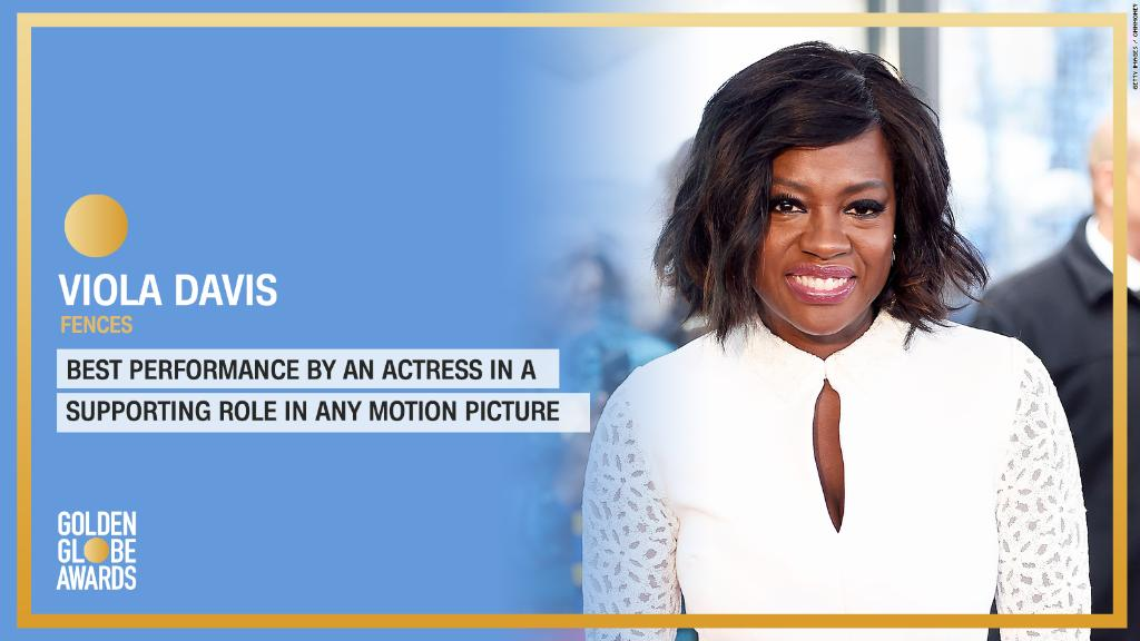 .@violadavis wins Best Supporting Actress in a Motion Picture for #FencesMovie. #GoldenGlobes https://t.co/HqCv7BnPfy
